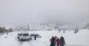 Sincik'in Kar İle İmtihanı
