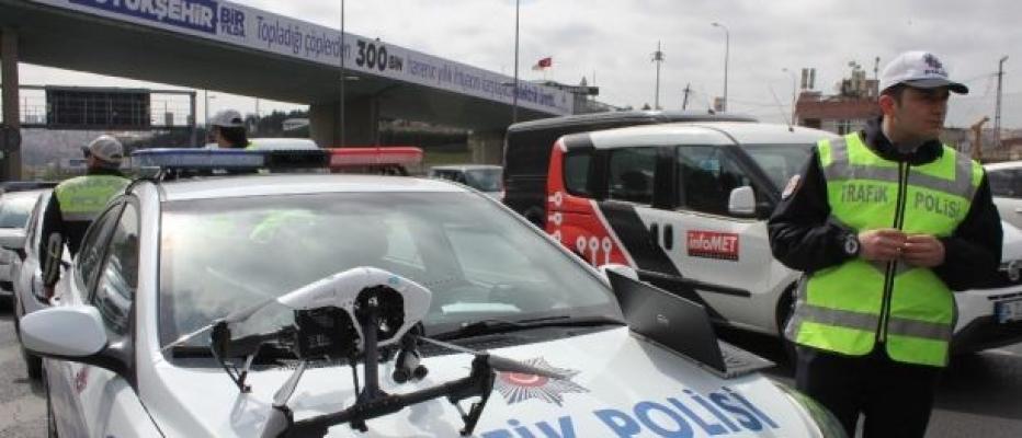 Adana'da Drone İle Trafik Denetimleri