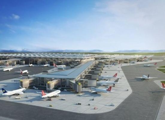 Dünyanın En Büyüğü İstanbul Havalimanı ( İST  Havalimanı )