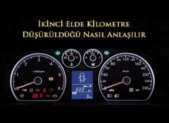 Arabada Kilometre Düşürme Nasıl Anlaşılır