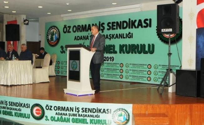 Genel Başkan Settar Aslan  Adana Şube 3. Olağan Genel Kurulları Konuşması